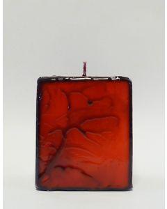 Batik Kerzen Rot
