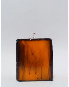 Batik Kerzen Orange